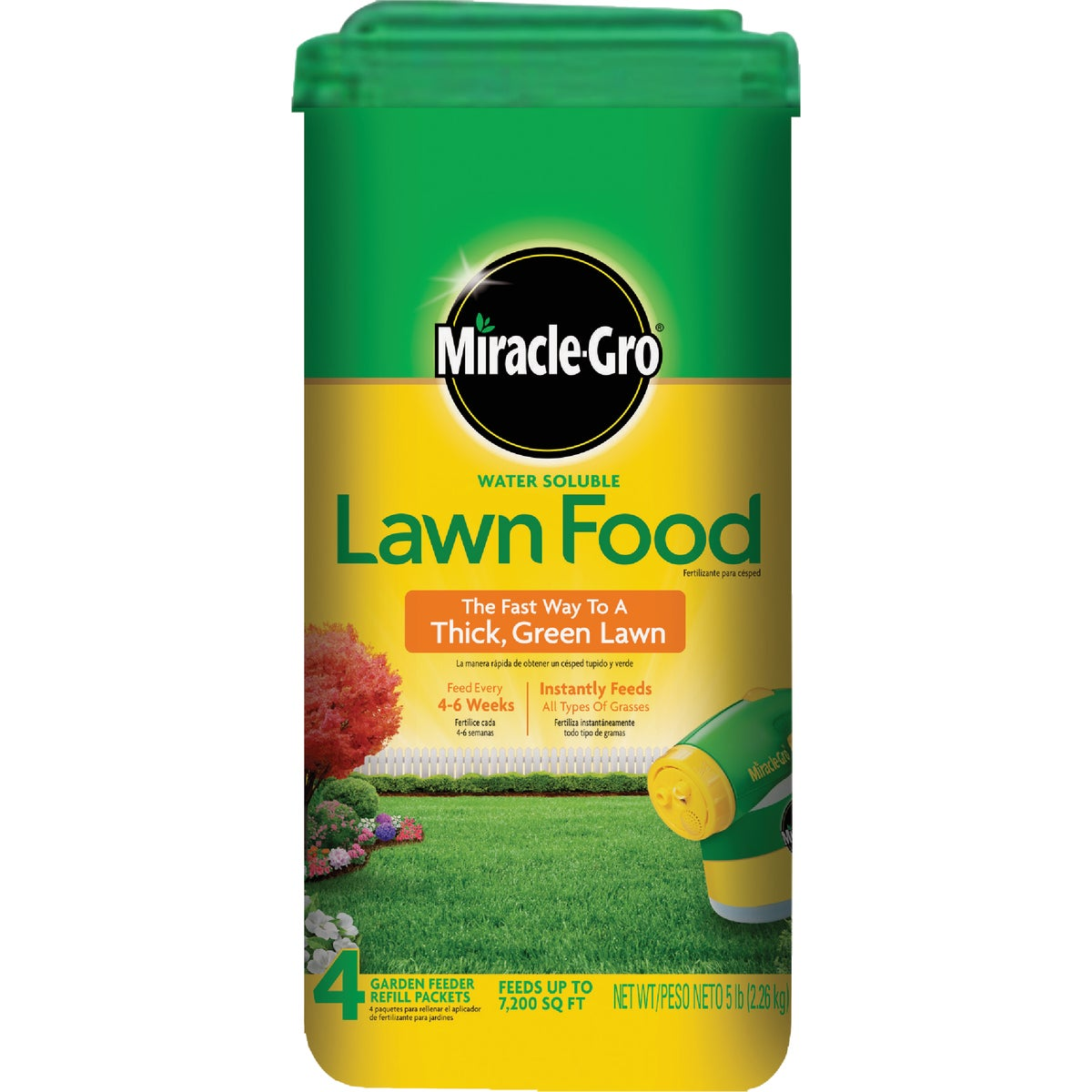 The Scotts Co. MIRACLE GRO LAWN FOOD 1001832