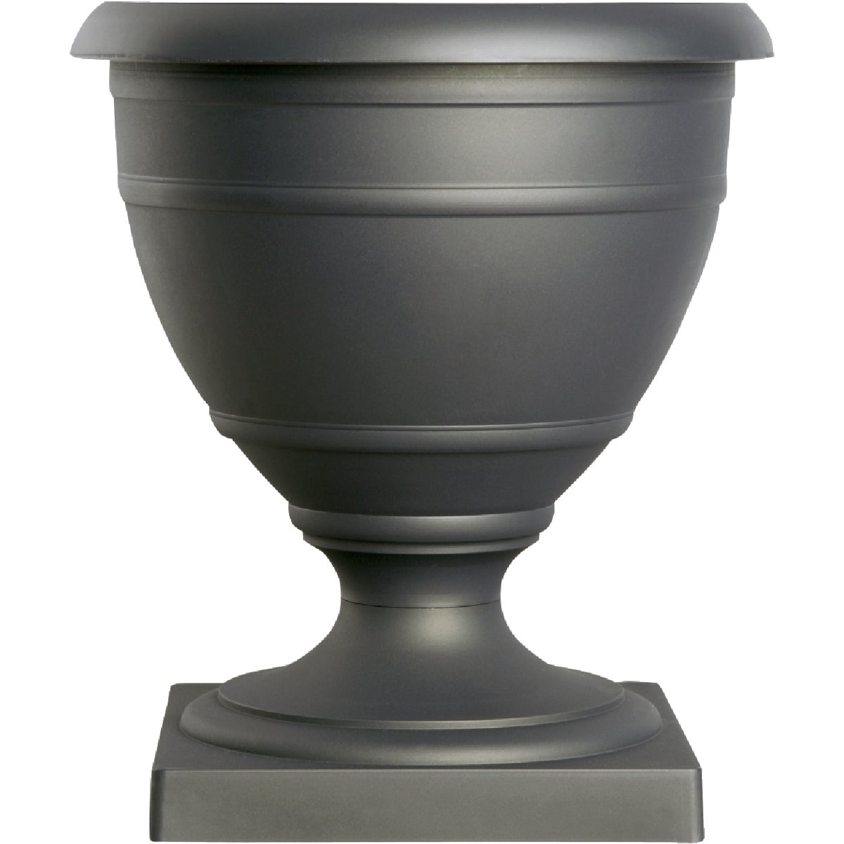 "14"" BLACK POLY URN - RUA14000G18 by Myers Industries Inc"