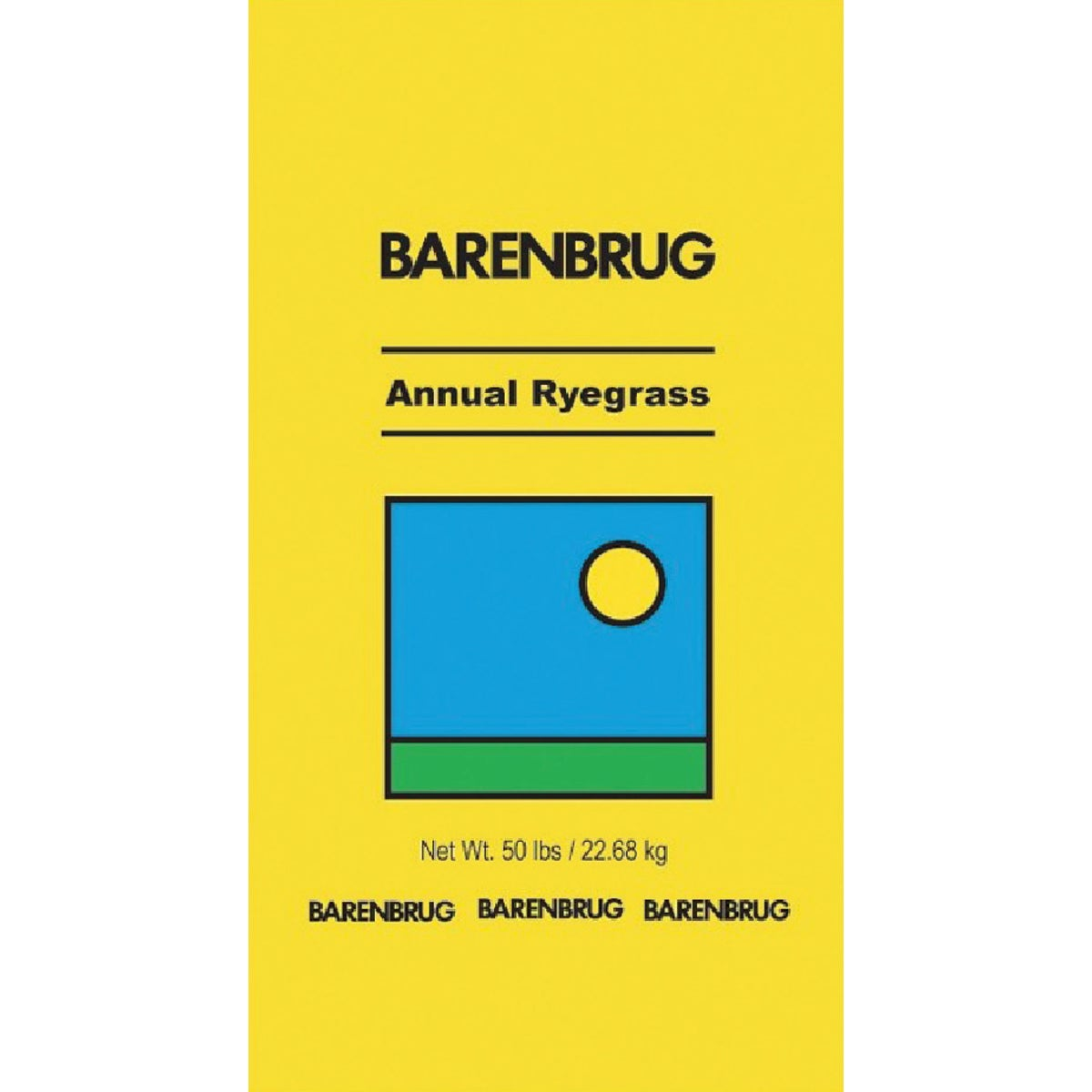 50# ANNUAL RYEGRASS SEED - 90150 by Barenbrug U S A