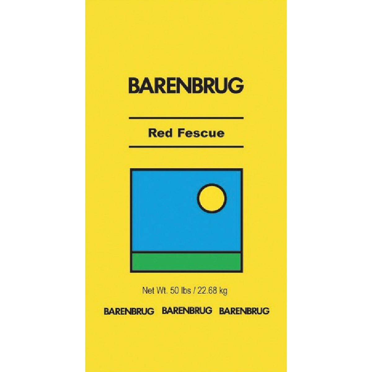 50#CREEP RED FESCUE SEED - 14650 by Barenbrug U S A