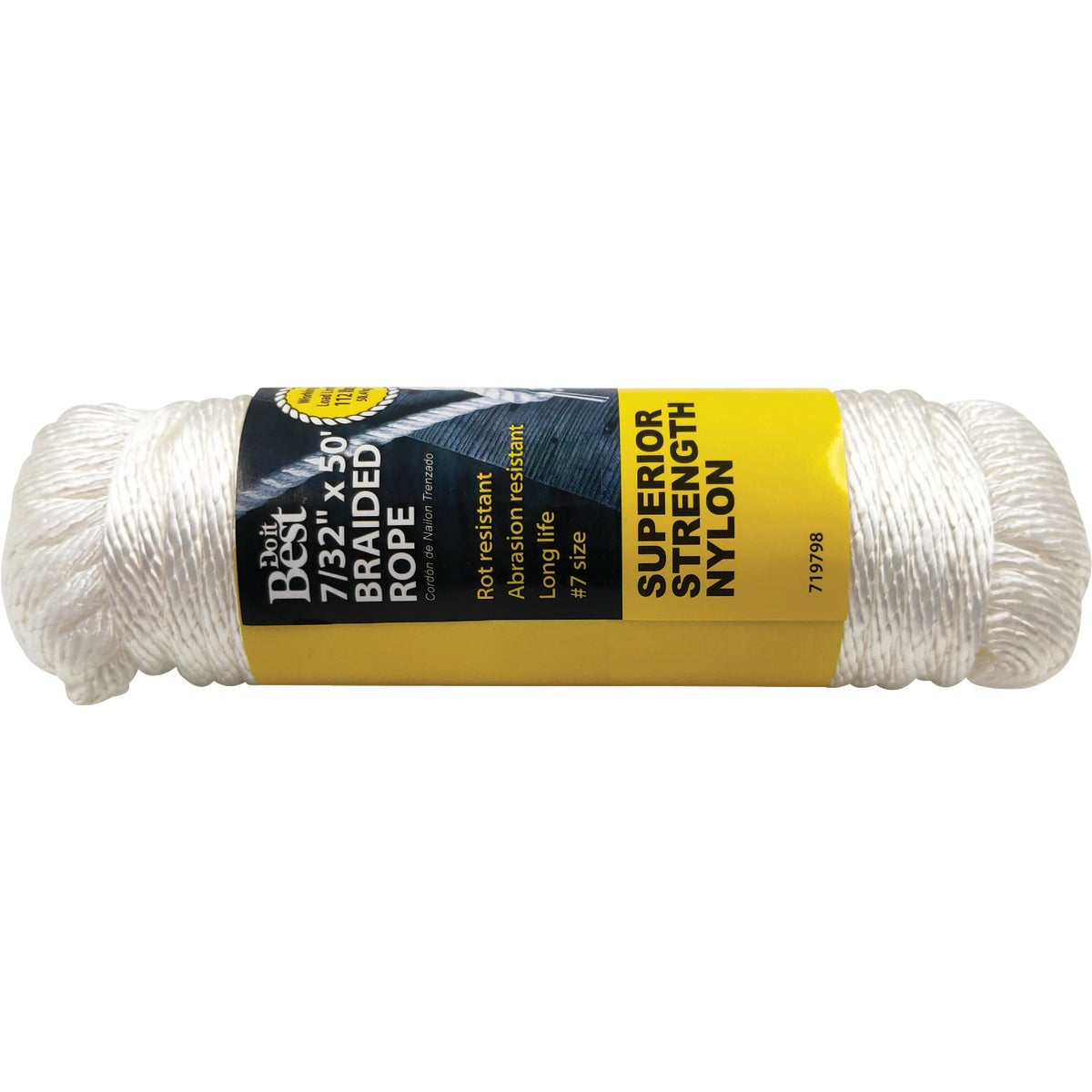 "7/32""X50' NYL BRAID ROPE - 719798 by Do it Best"