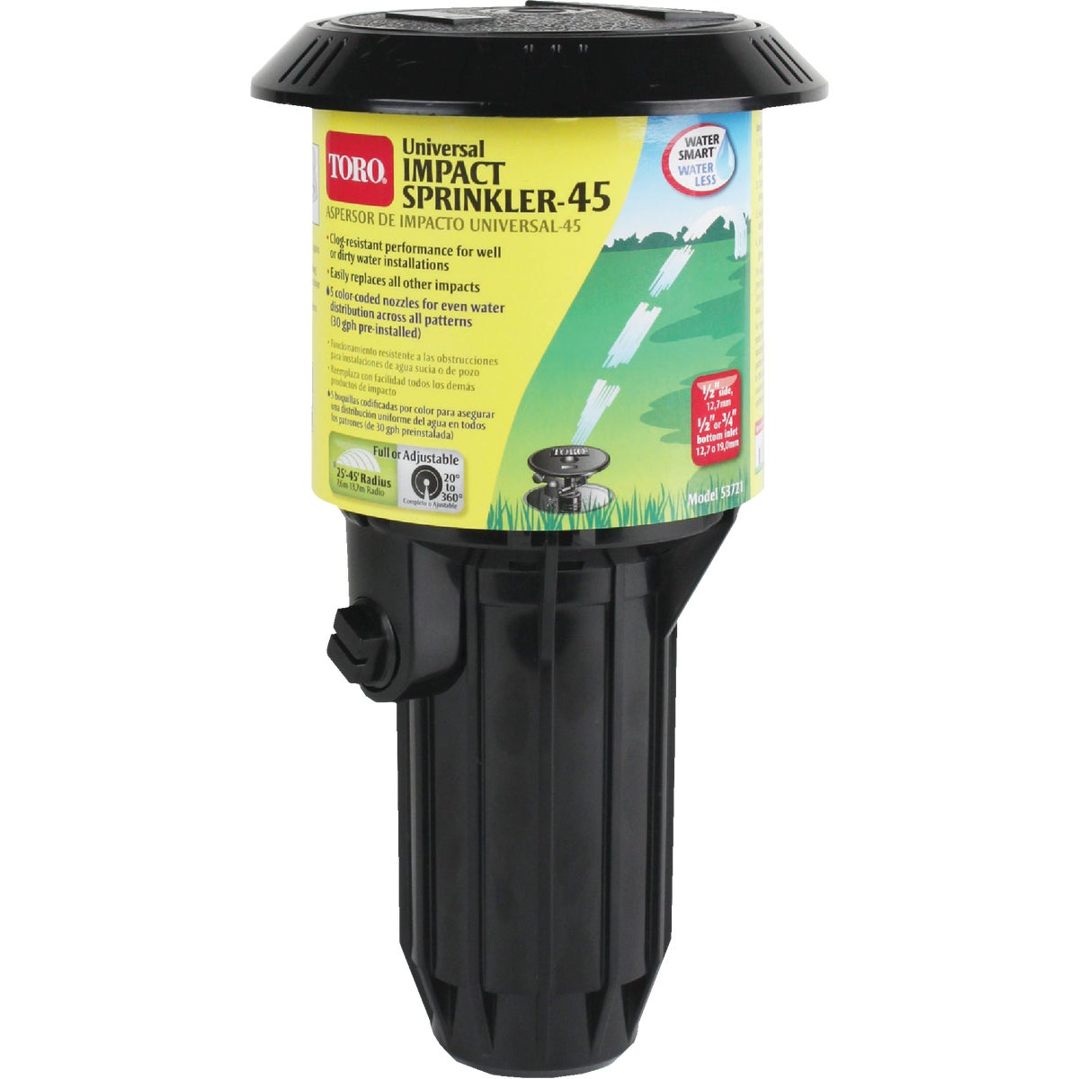 POP-UP IMPULSE SPRINKLER - 53721 by Toro/elect Appl Ordr
