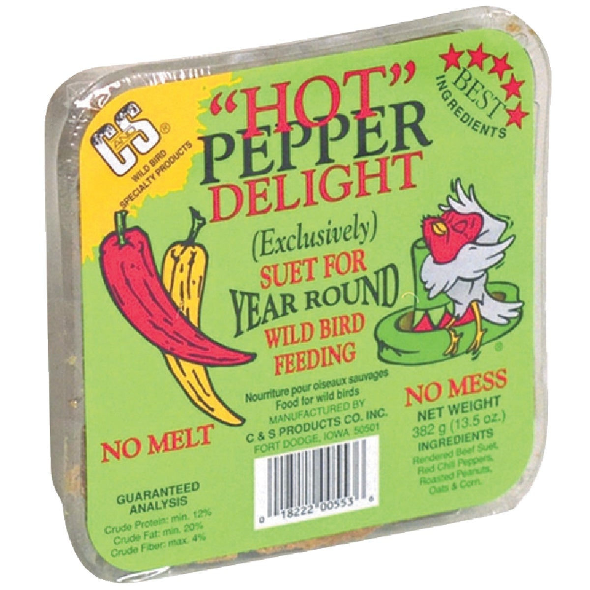 HOT PEPPER SUET - 12553 by C & S Products Inc