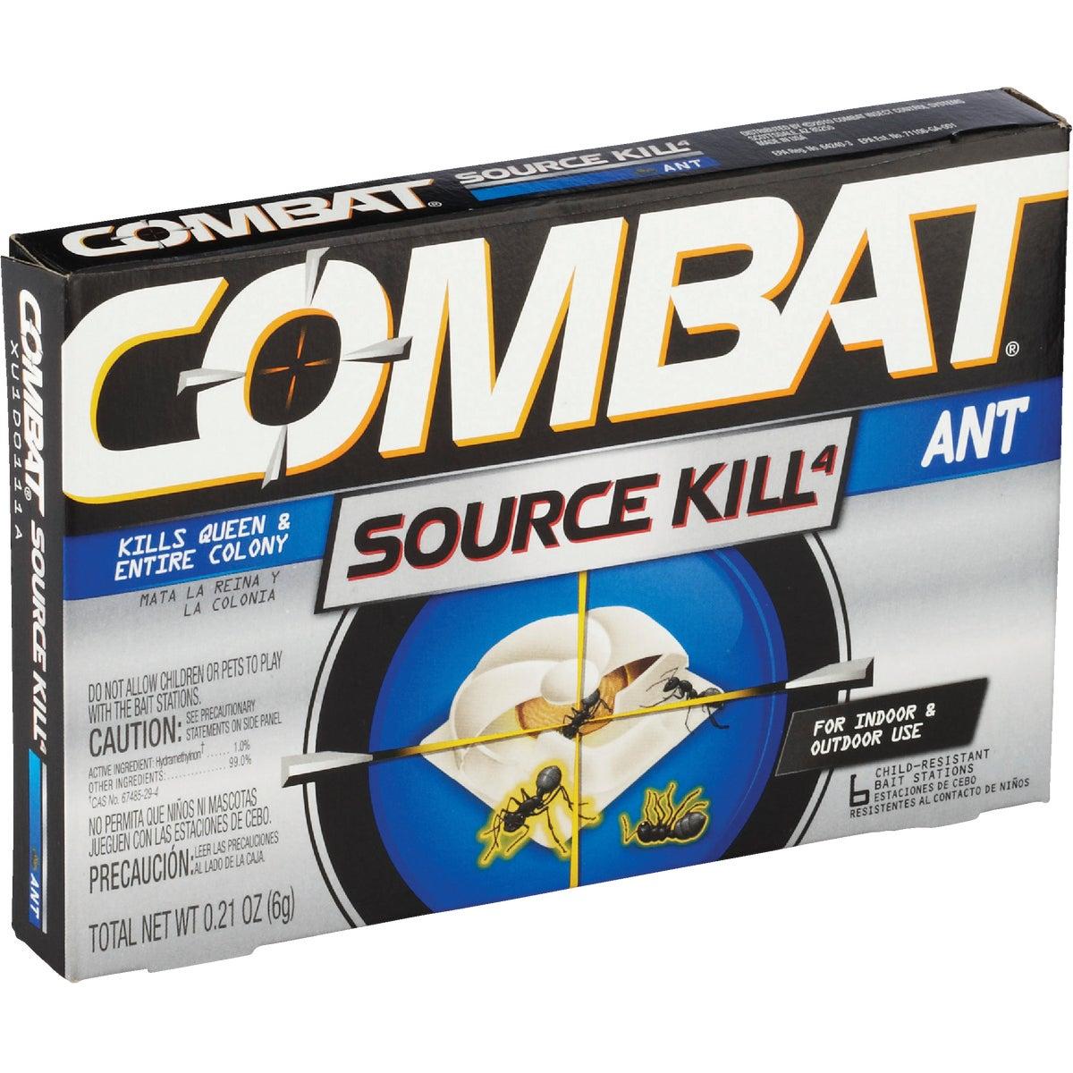 6PK COMBAT ANT BAIT - 45901 by Lagassesweet  Incom