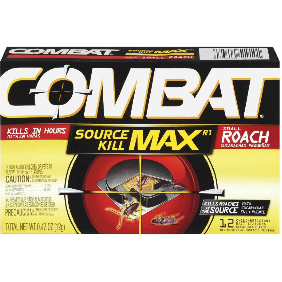 12PK SM COMBAT ROACH TRP - 41910 by Dial Corp