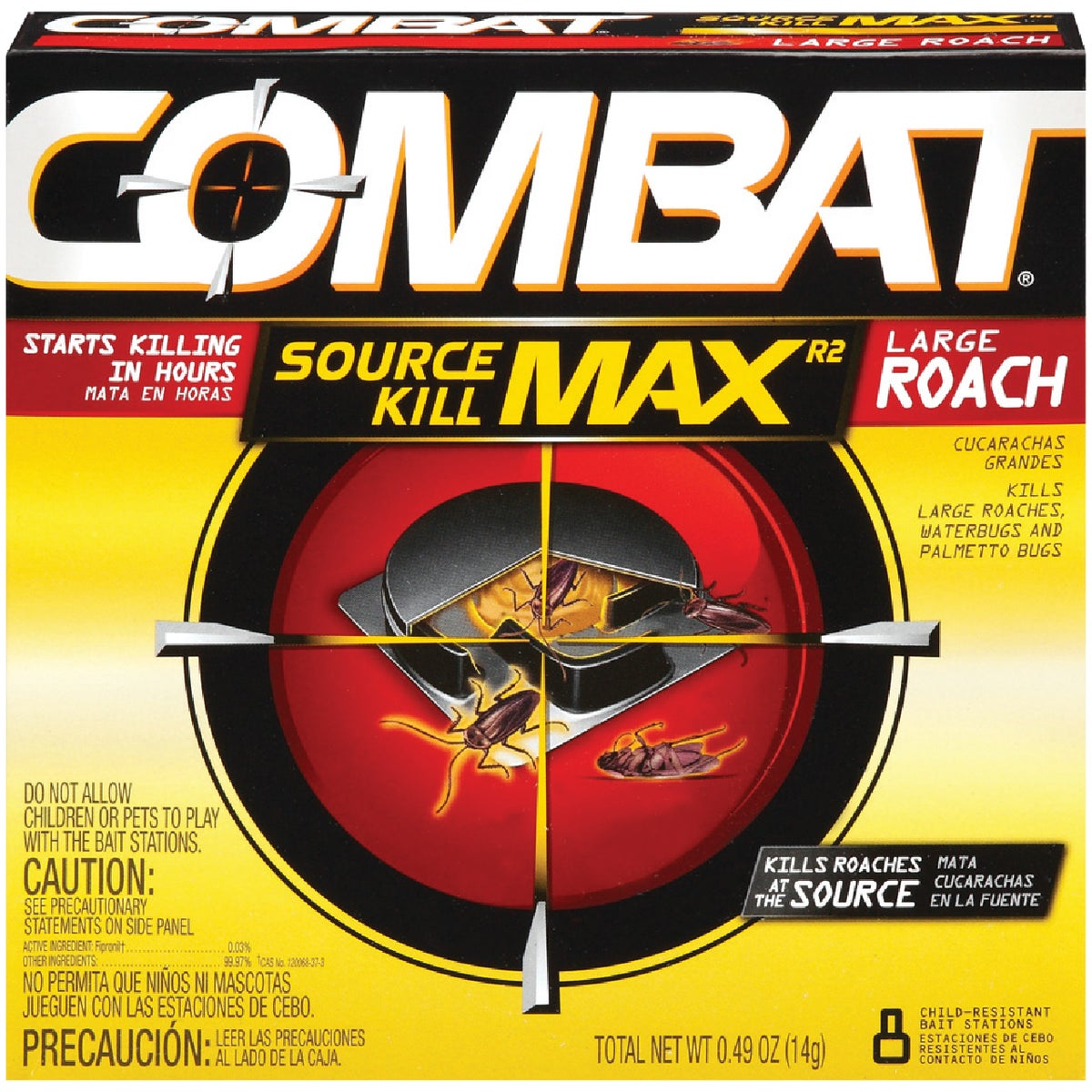 8PK LG COMBAT ROACH TRAP - 41913 by Lagassesweet  Incom