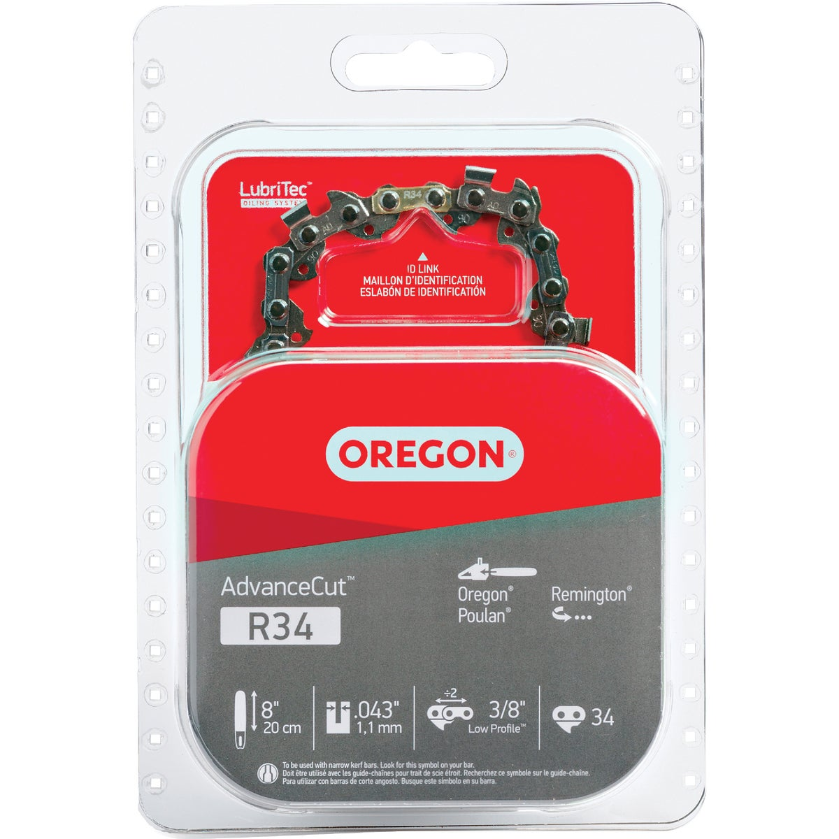 "8"" REPL SAW CHAIN - R34 by Oregon Cutting Systm"