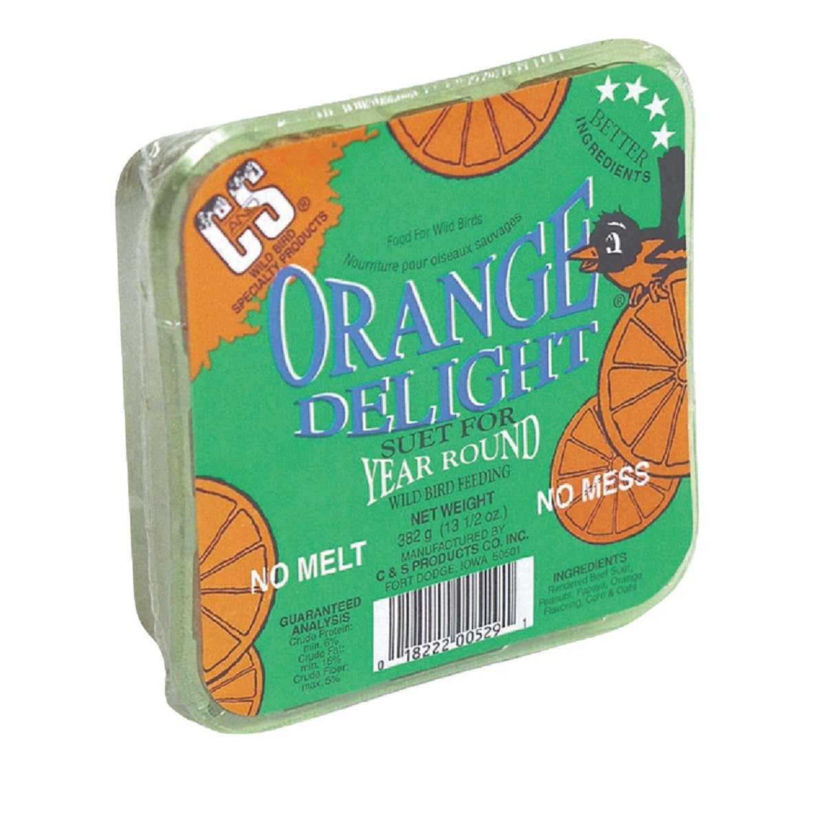 ORANGE DELIGHT SUET - 12529 by C & S Products Inc