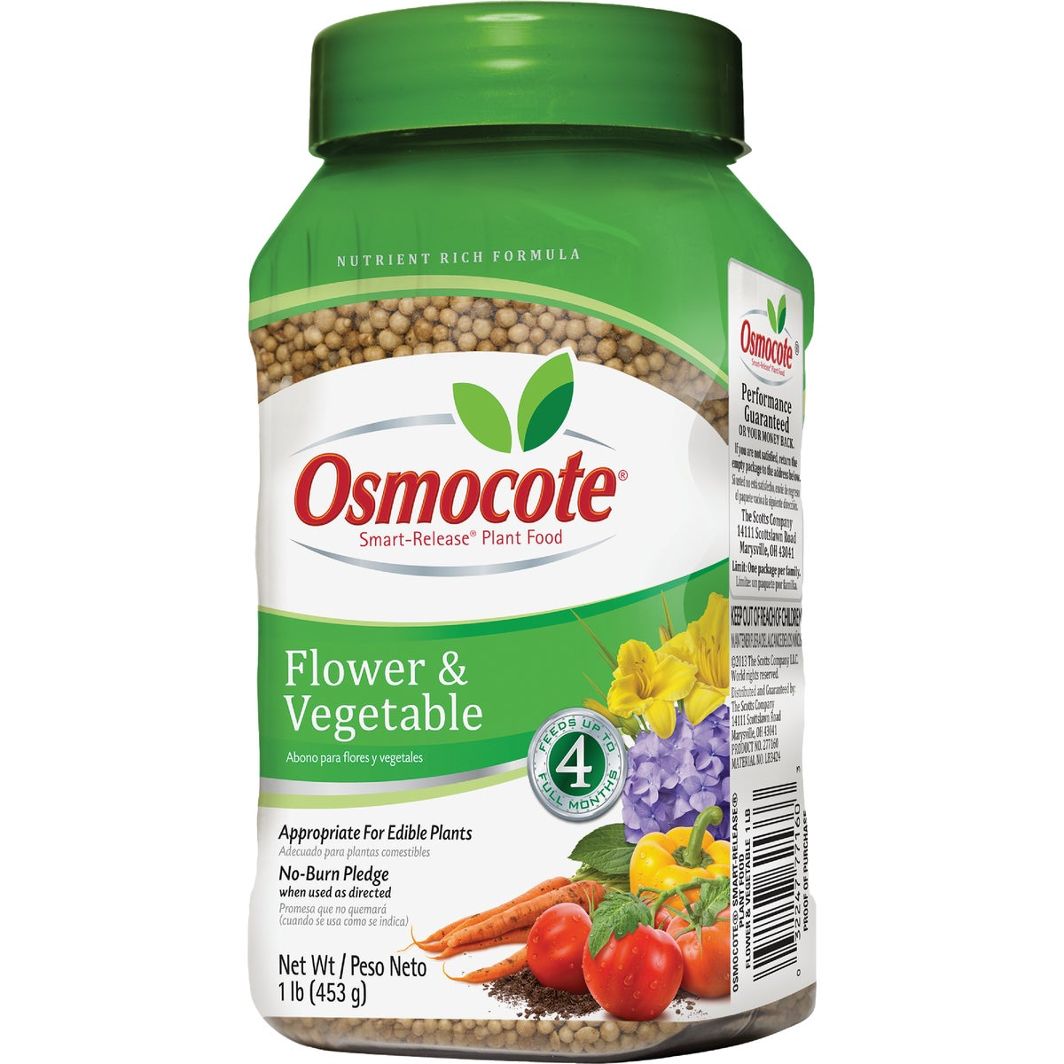 1LB OSMOCOTE FLWR&VEG - 277160 by Scotts Company