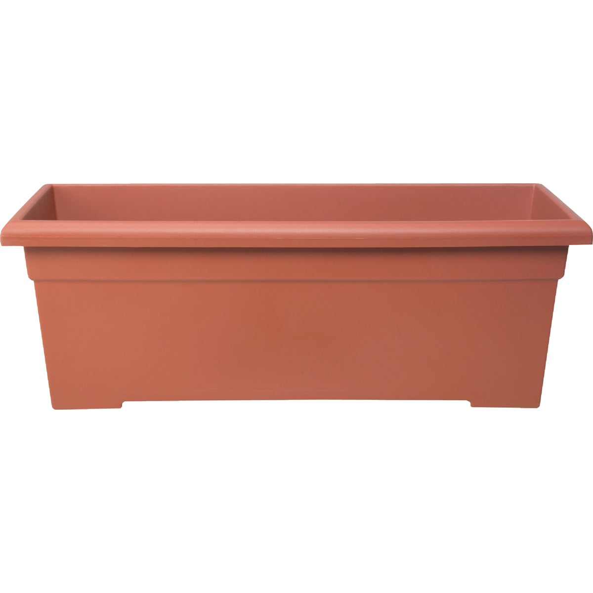 "28""CLAY POLY PLANTER BOX - ROP28000E35 by Myers Industries Inc"
