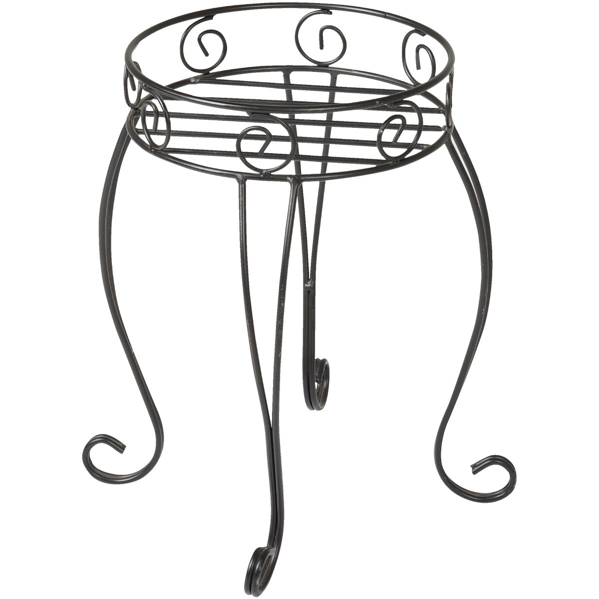 "21"" BLACK PLANT STAND - FF1119-21 by Do it Best"