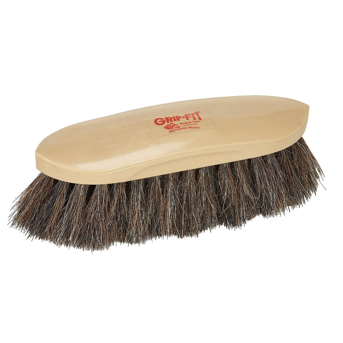 HORSEHAIR GROOMING BRUSH - 65 by Decker Manufacturing