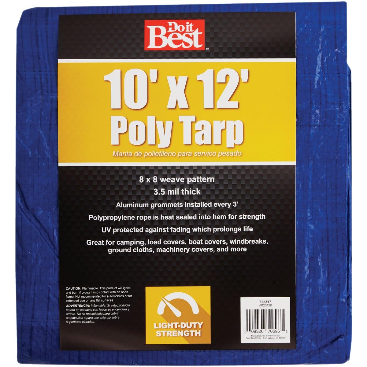10X12 BLUE AP TARP