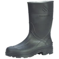 Norcross Safety Prod SZ1 YTH BLK PVC RAINBOOT 76002-1