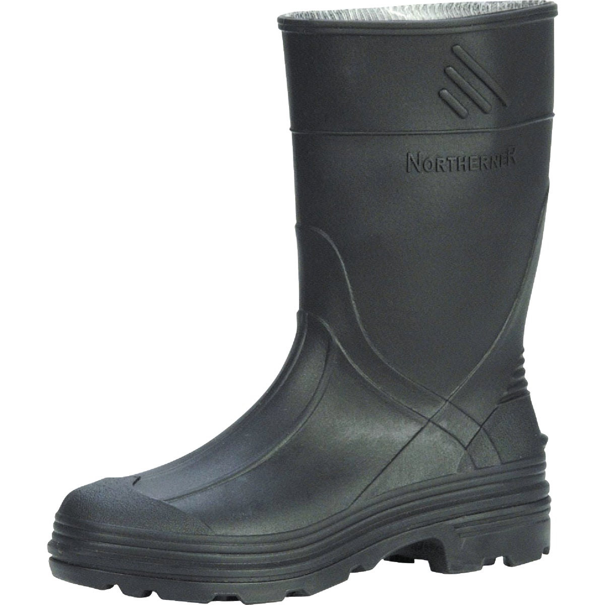 SZ2 YTH BLK PVC RAINBOOT - 76002-2 by Norcross Safety Prod