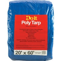 Do it Best GS Tarps 20X60 BLUE MED DUTY TARP 725549