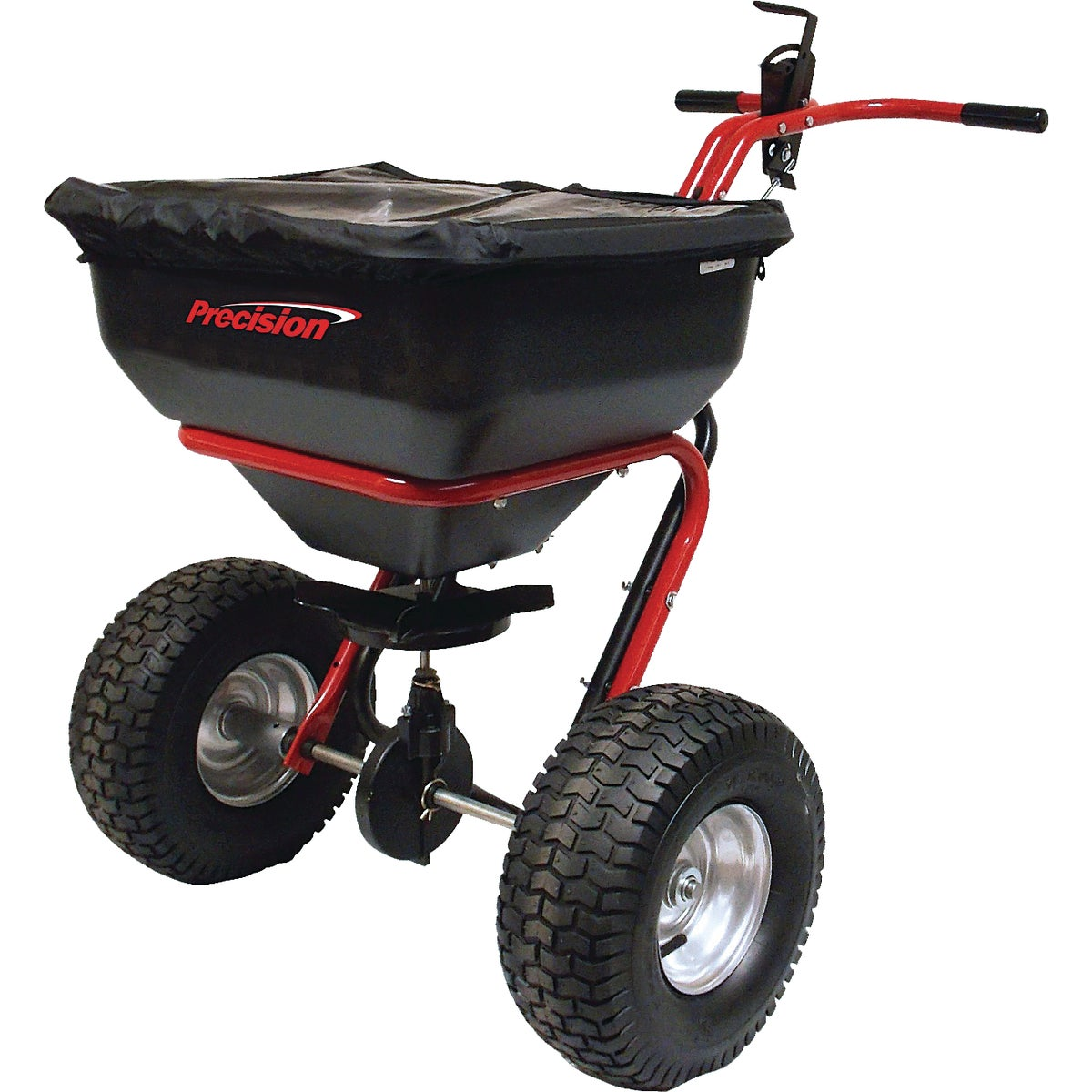 130LB BROADCAST SPREADER - SB6500 by Precision Prod Inc
