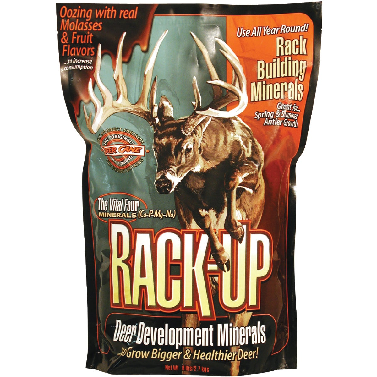 6LB MINERAL SUPP RACK-UP