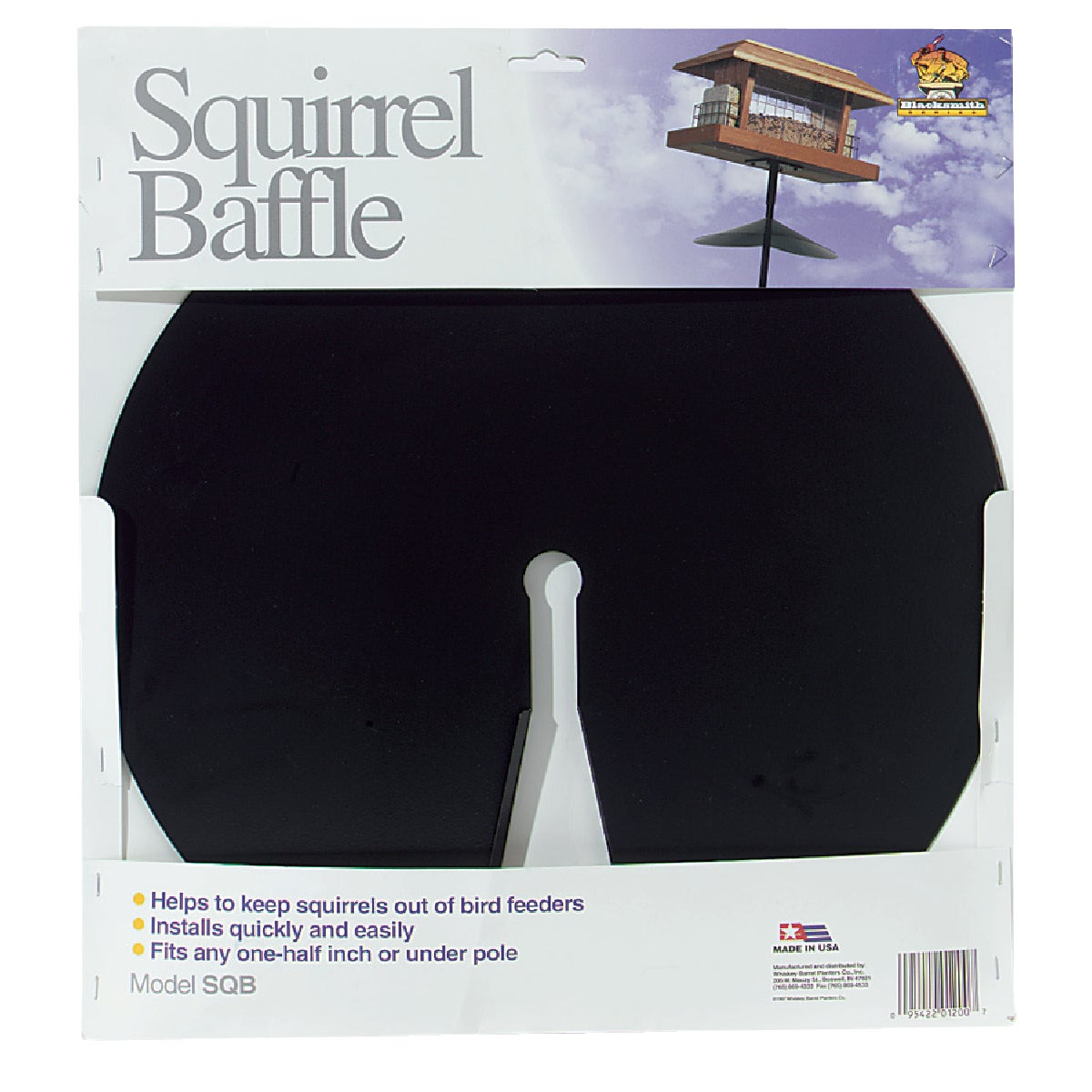 SQUIRREL BAFFLE - SQB by American Gardenworks