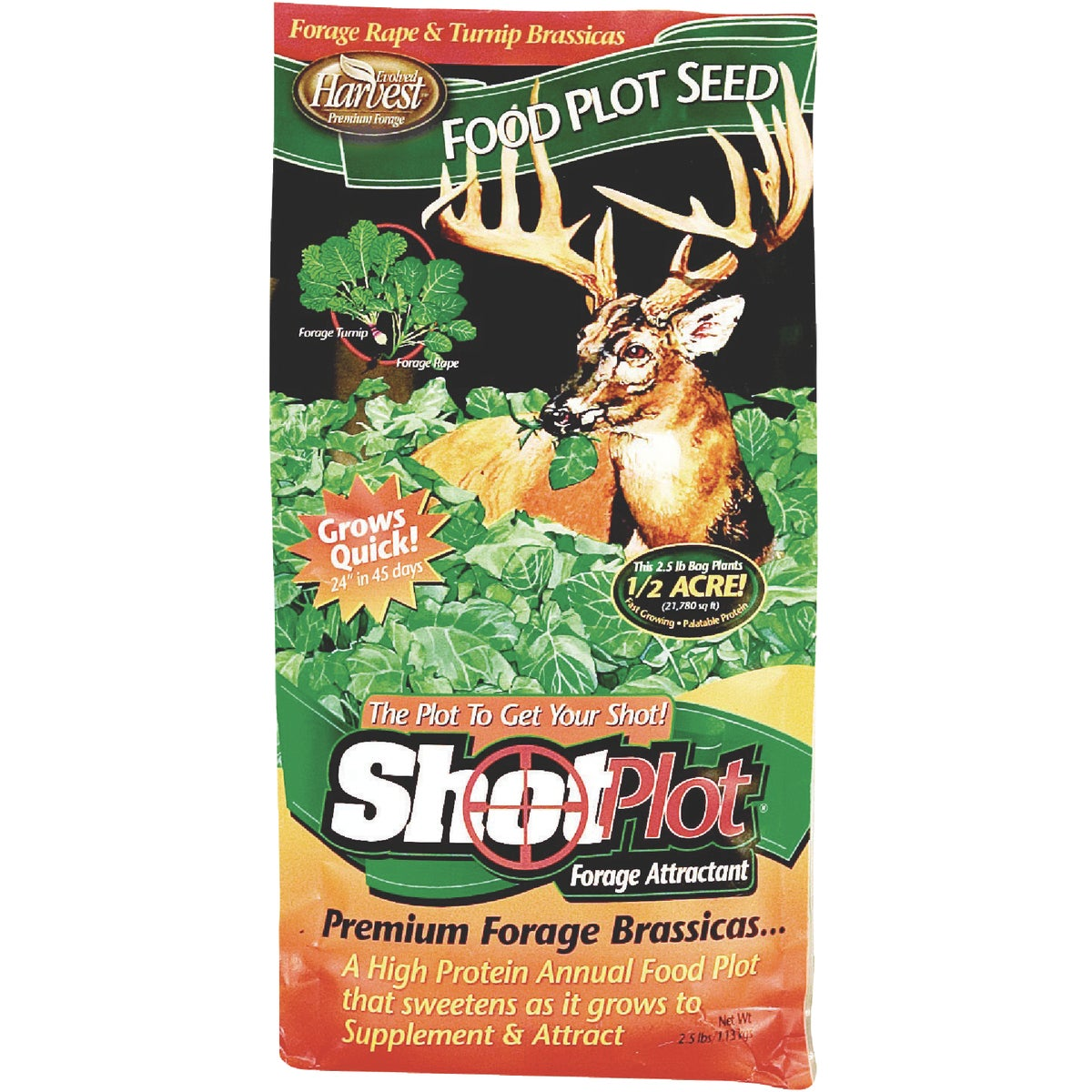 2.5LB SHOTPLOT FORAGE - 70252 by Evolved Habitats