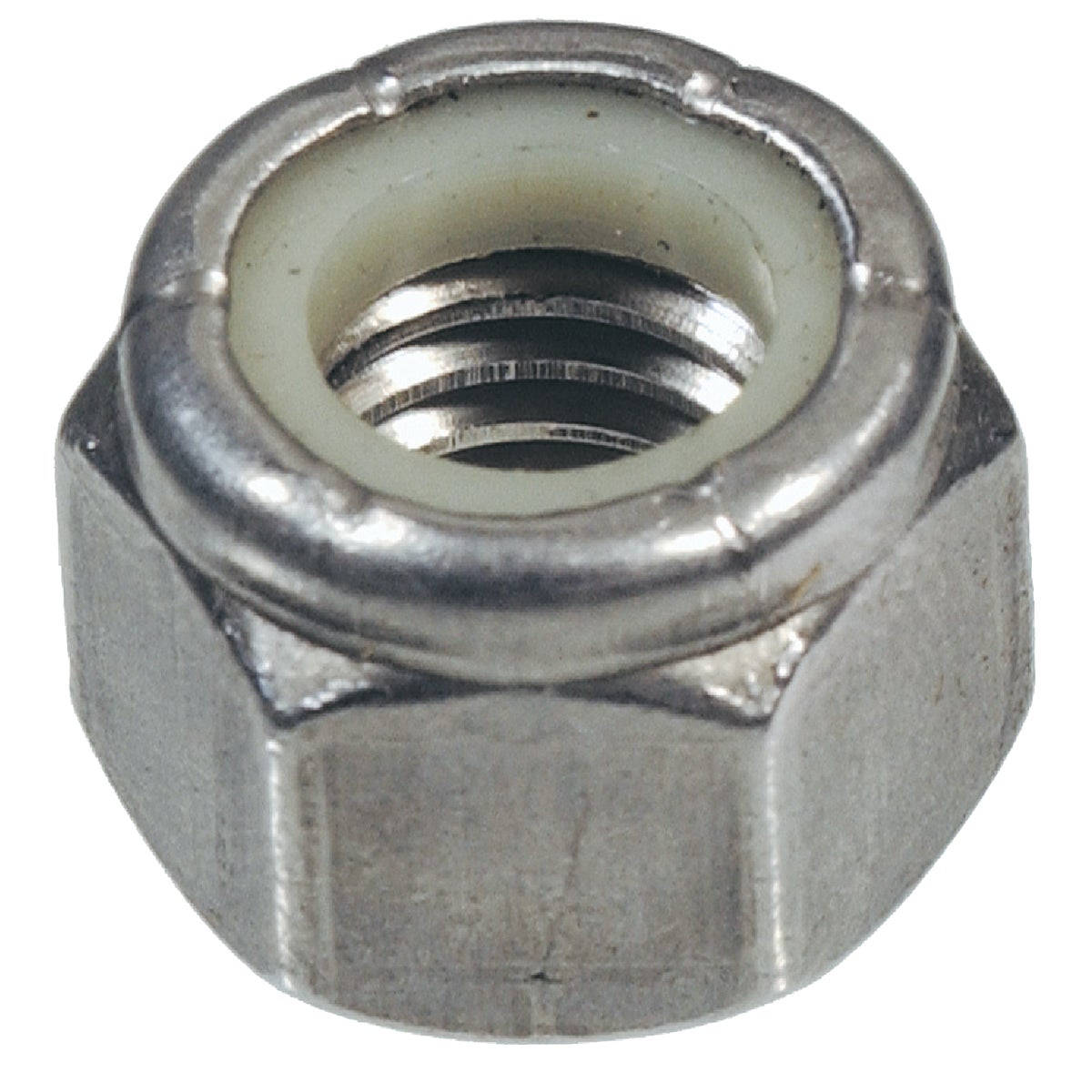 8-32 SS NYLON LOCK NUT - 829712 by Hillman Fastener
