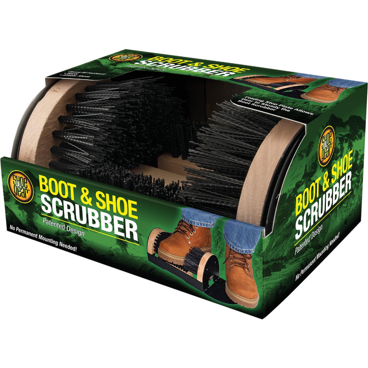 BOOT SCRUBBER/BRUSH
