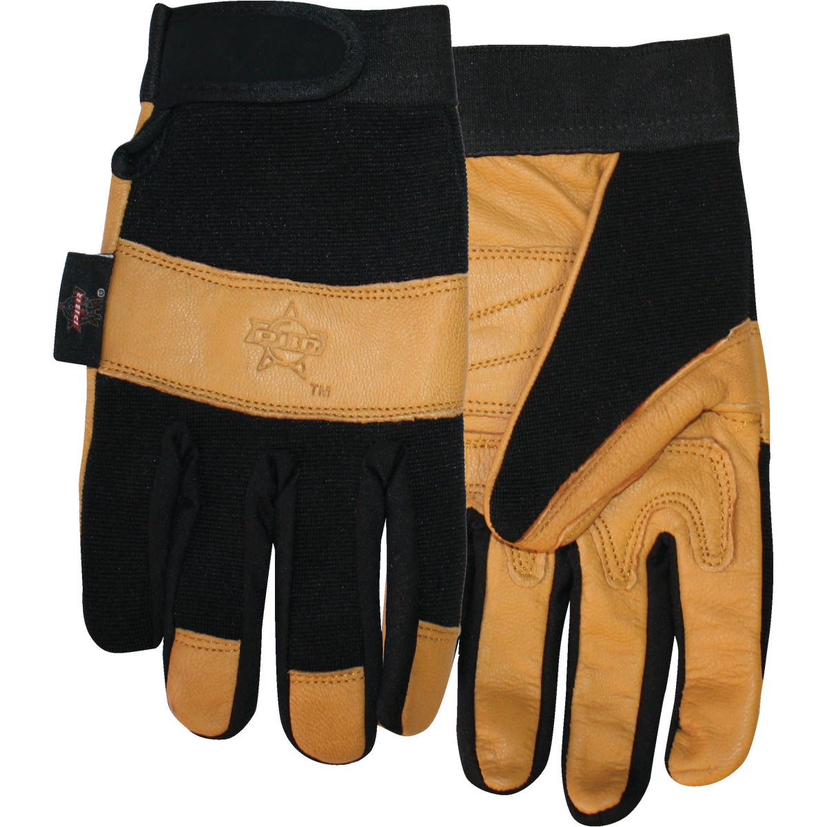 XL LTHR PALM PBR GLOVE - PB116-XL by Midwest Quality Glov