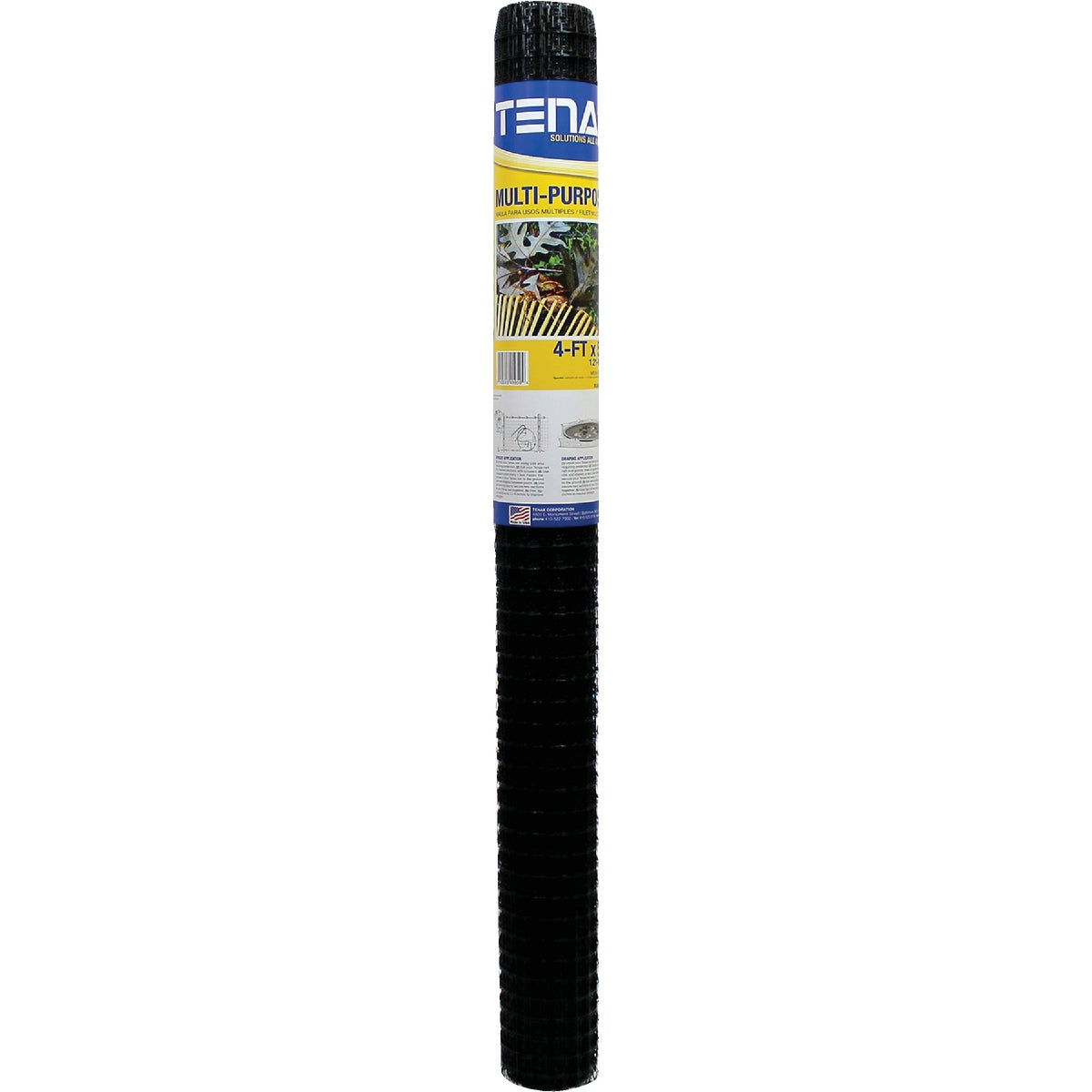 4X50 BLK MULTI NET - 419594 by Tenax Corporation