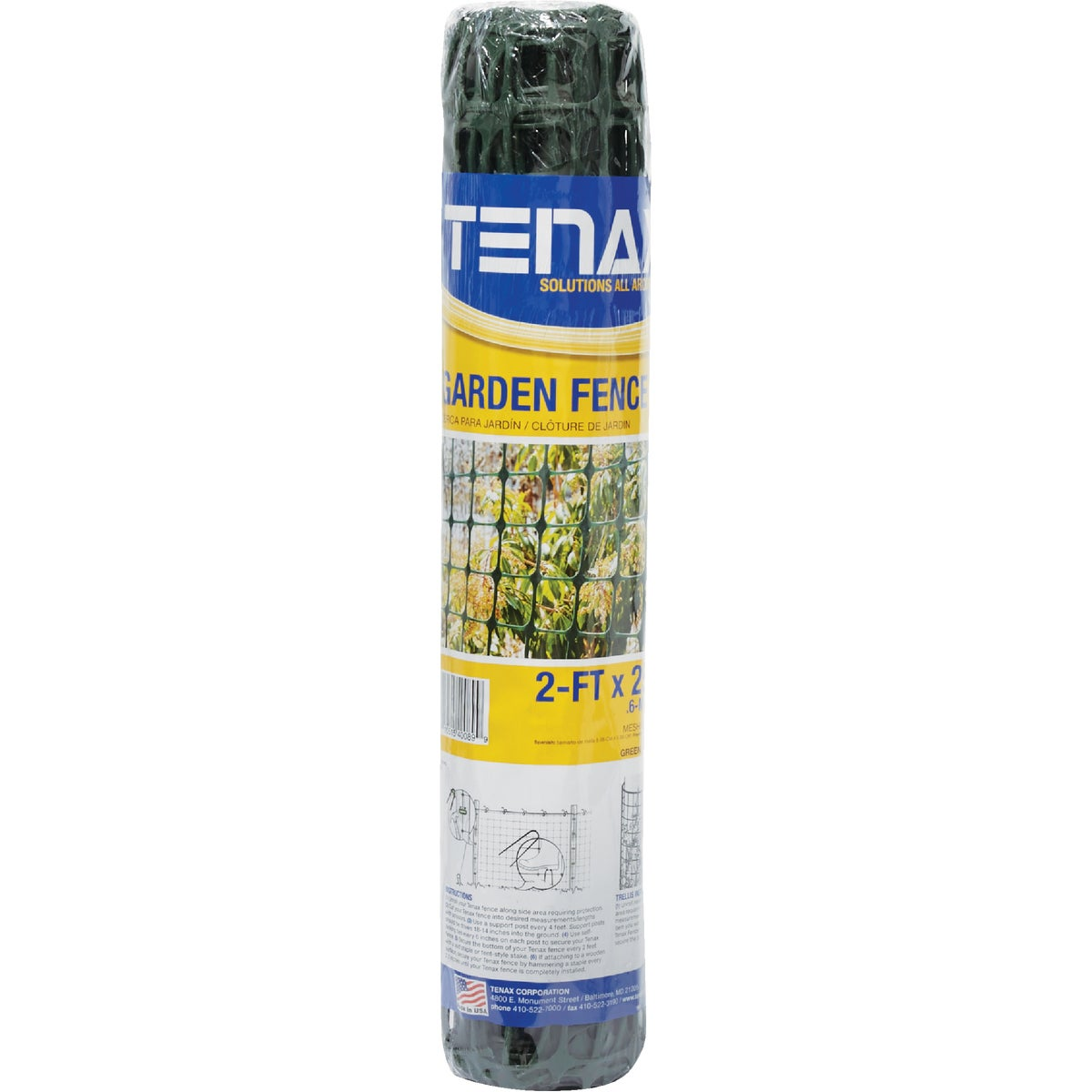2X25 GREEN HOME FENCE - 783060 by Tenax Corporation