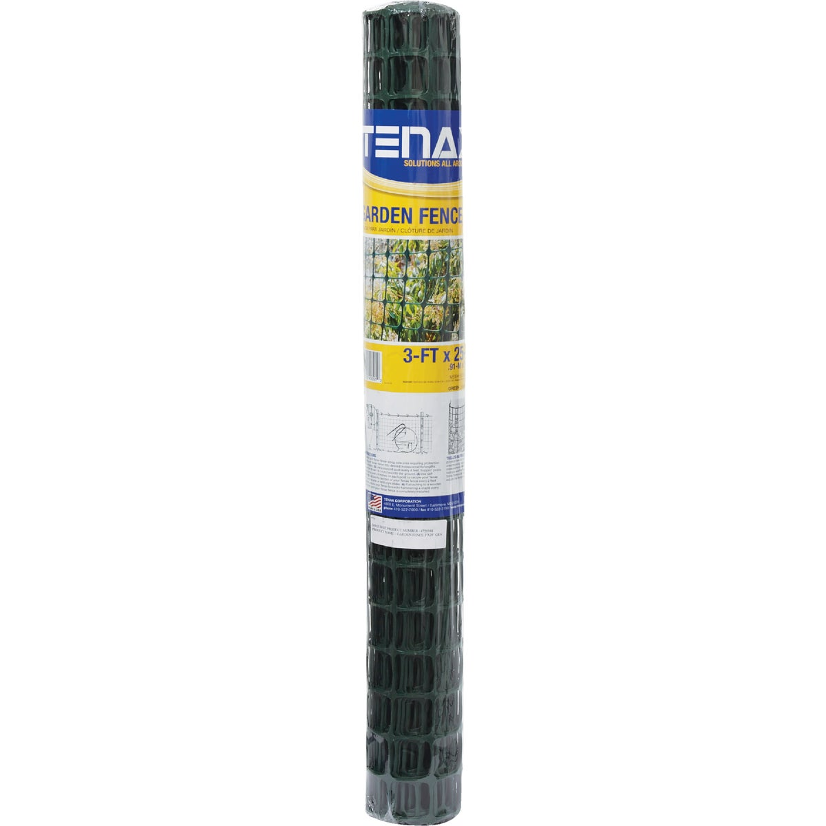3X25 GREEN HOME FENCE - 786061 by Tenax Corporation