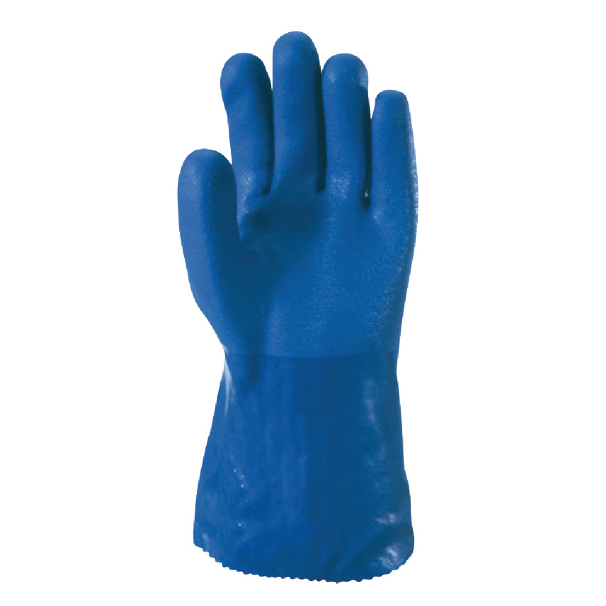 "12"" BLUE HD PVC GLOVE"