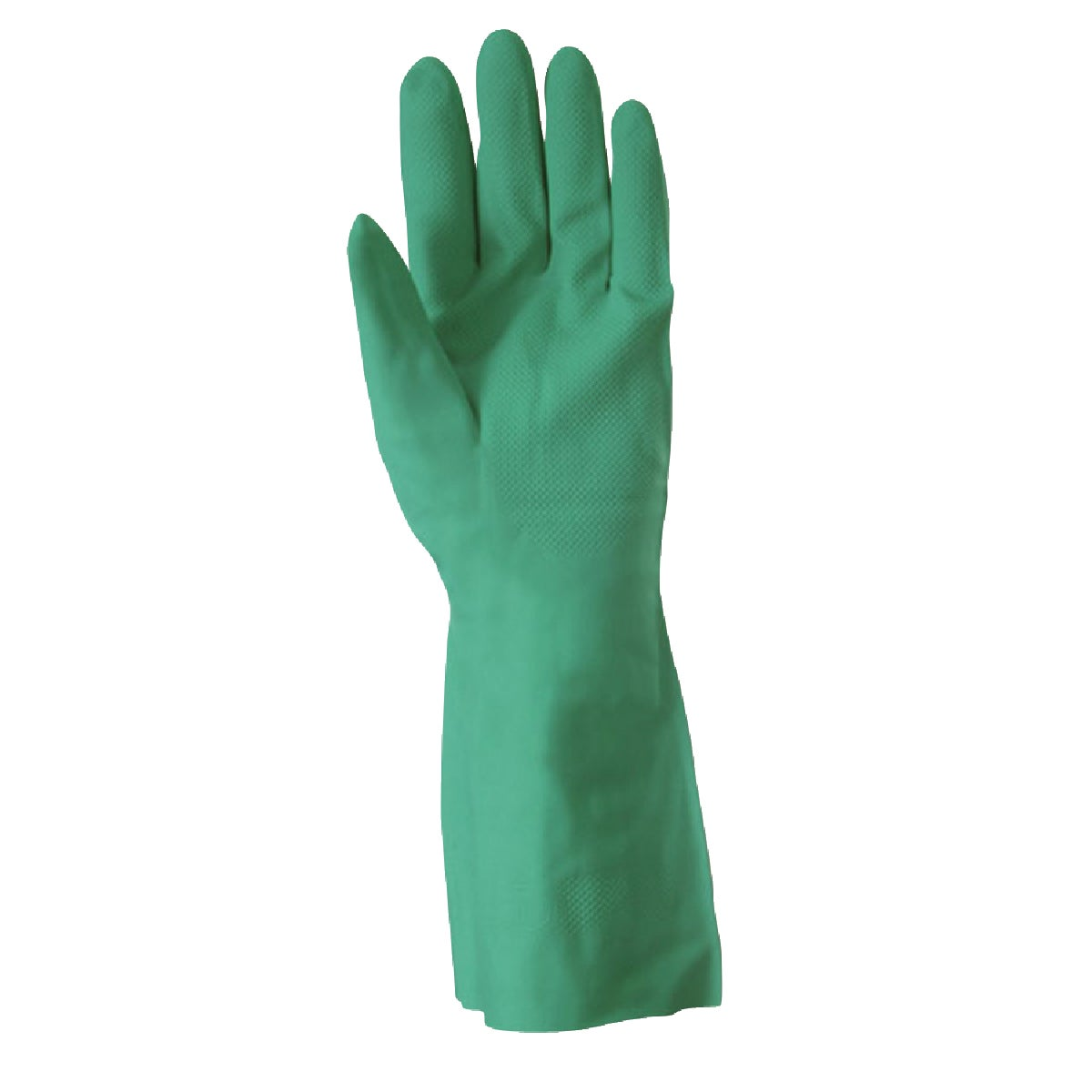 """13"""" GREEN NITRILE GLOVE - 178L by Wells Lamont"""