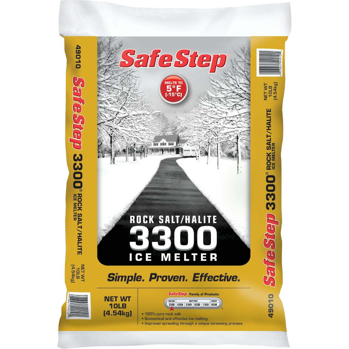 10LB SALT ICE MELTER - 49011 by North American Salt