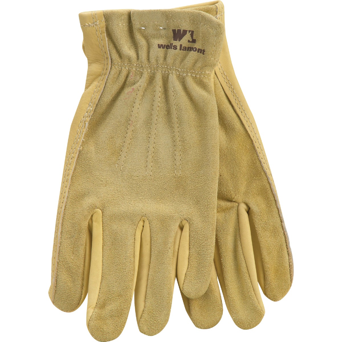 MED LADIES COWHIDE GLOVE