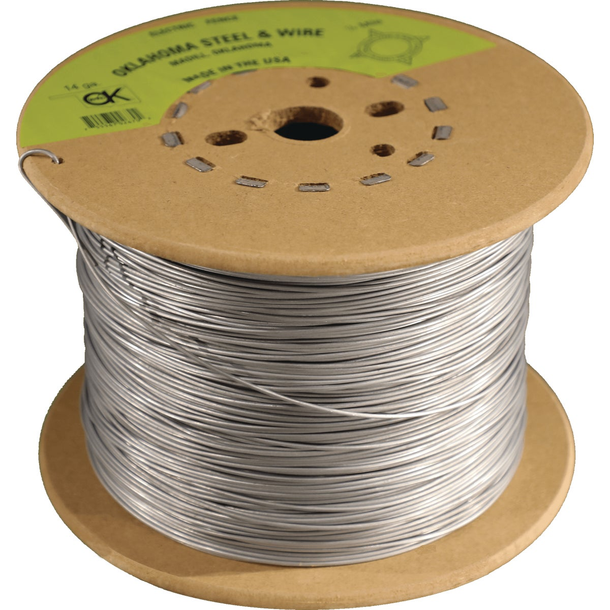 1/2M 14GA ELC FENCE WIRE - 118306 by Bekaert Corp
