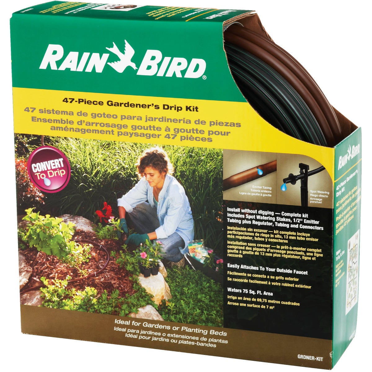 GARDENERS DRIP KIT - GRDNER-KIT by Rain Bird Corp Consu