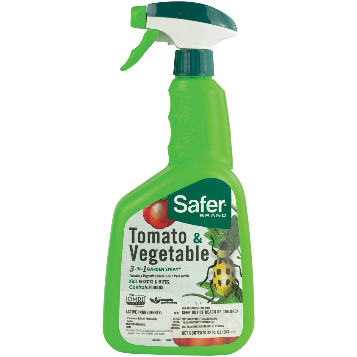 VEGETABLE INSECT KILLER - 5085 by Woodstream Corp