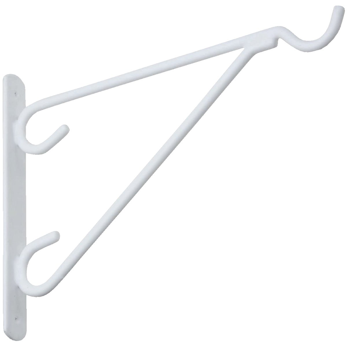 "12"" WHT VC PLANT BRACKET - N274654 by National Mfg Co"