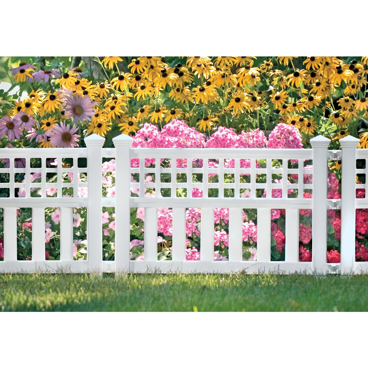 GRAND VIEW POLY FENCE - GVF24 by Suncast Corporation