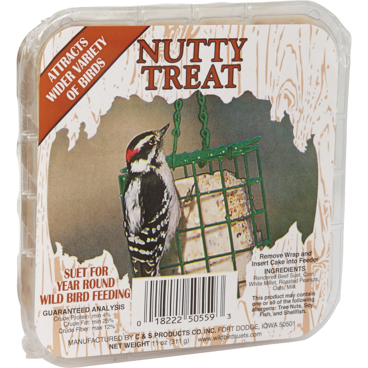 11OZ NUTTY TREAT SUET