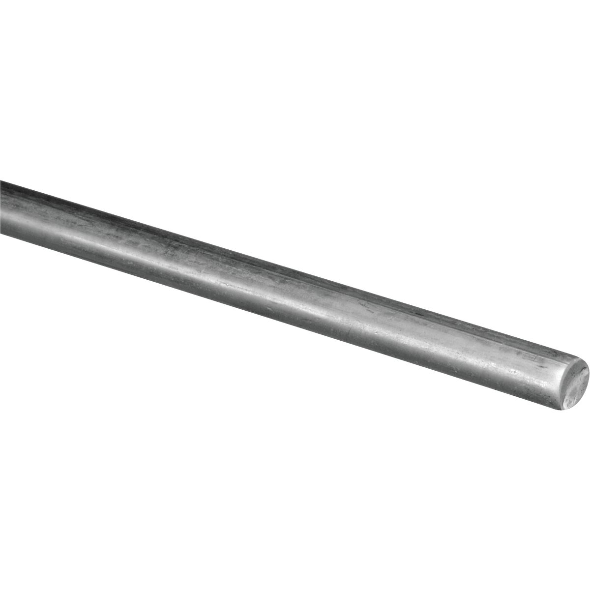 1/4X3' ROUND STEEL ROD - N179762 by National Mfg Co
