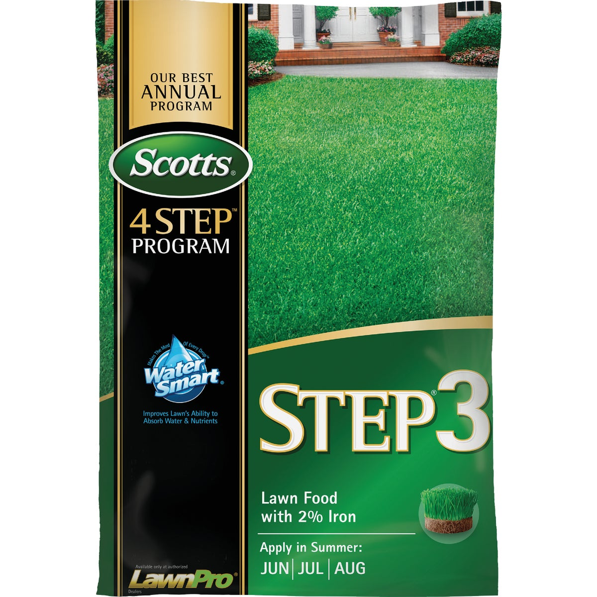 15M STEP 3 FERT +2% IRON - 33050 by Scotts Company