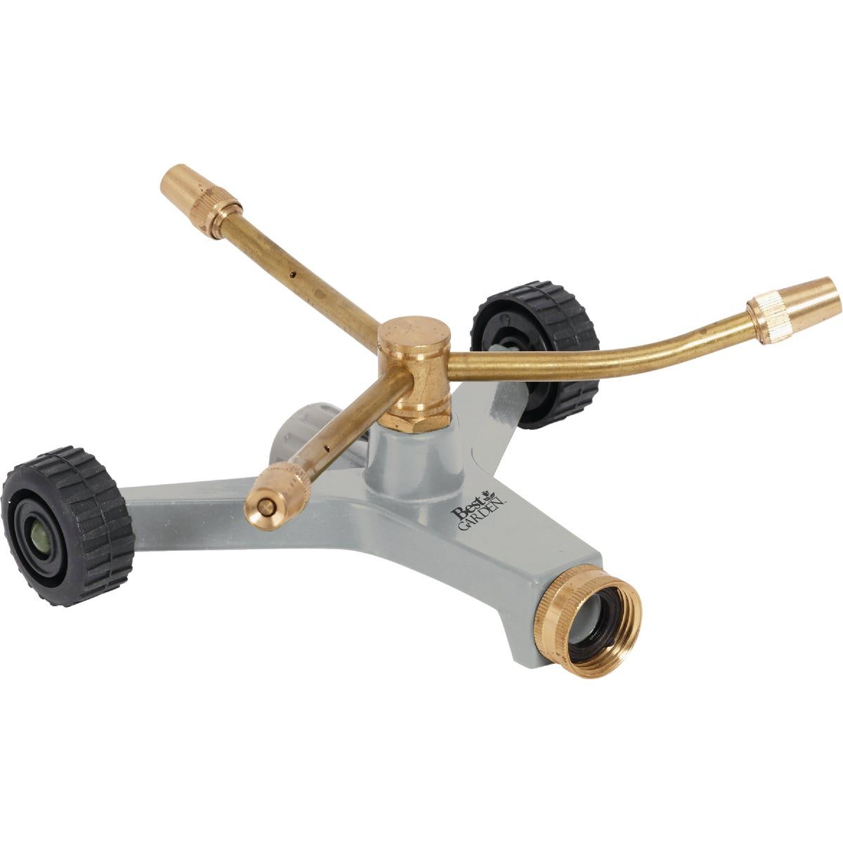 W/WHEELS 3-ARM SPRINKLER