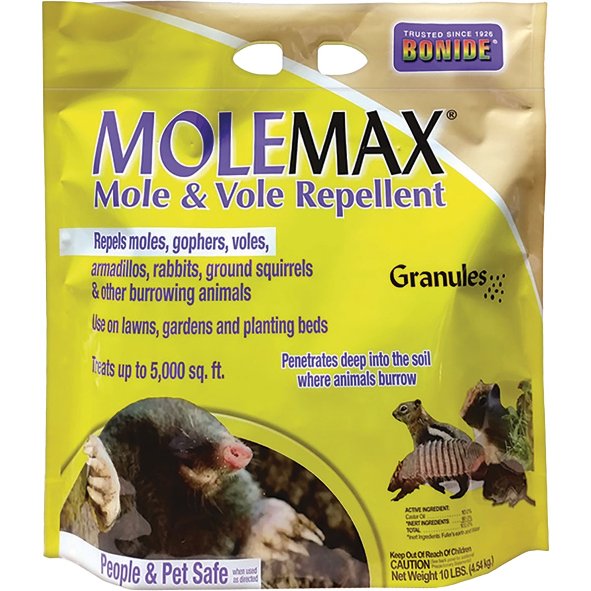 10LB GRAN MOLE REPELLENT