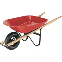 4Cu Ft Steel Wheelbarrow