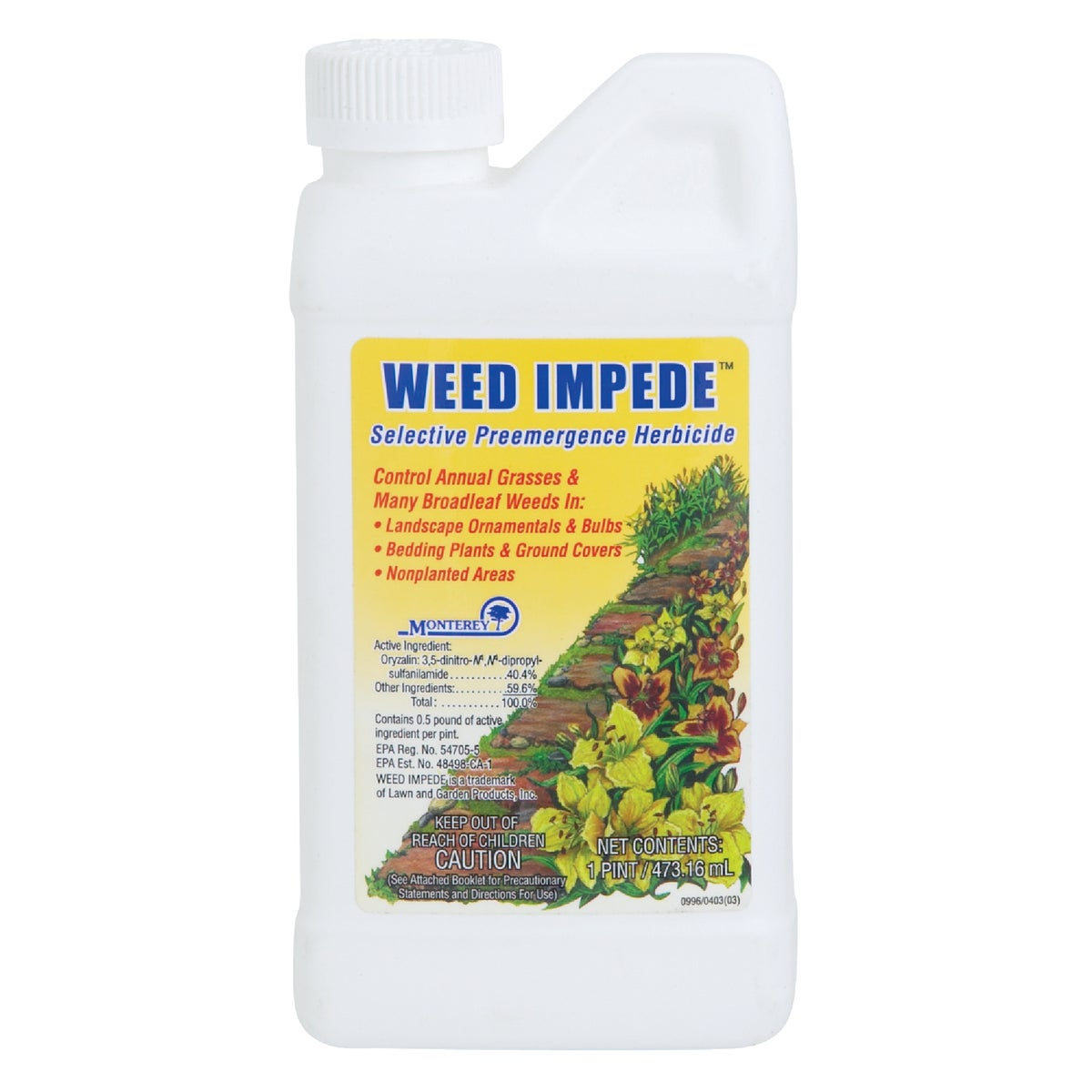 PINT CONC WEED IMPEDE - LG5130 by Monterey Lawn&garden