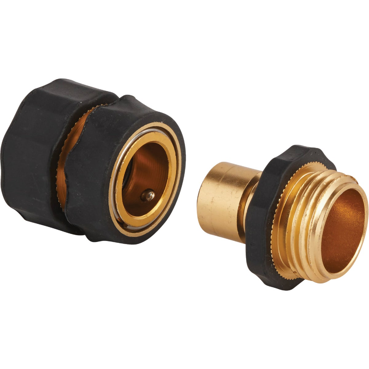 QUICK BRASS COUPLER SET