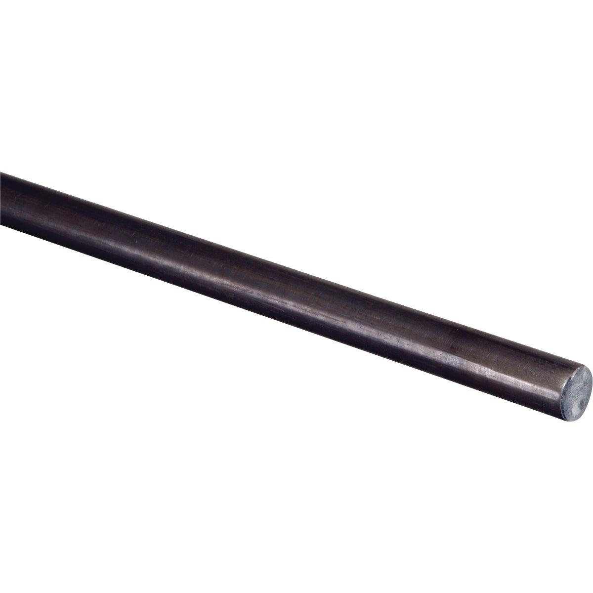 1/4X6' CR RND STEEL ROD - N215327 by National Mfg Co
