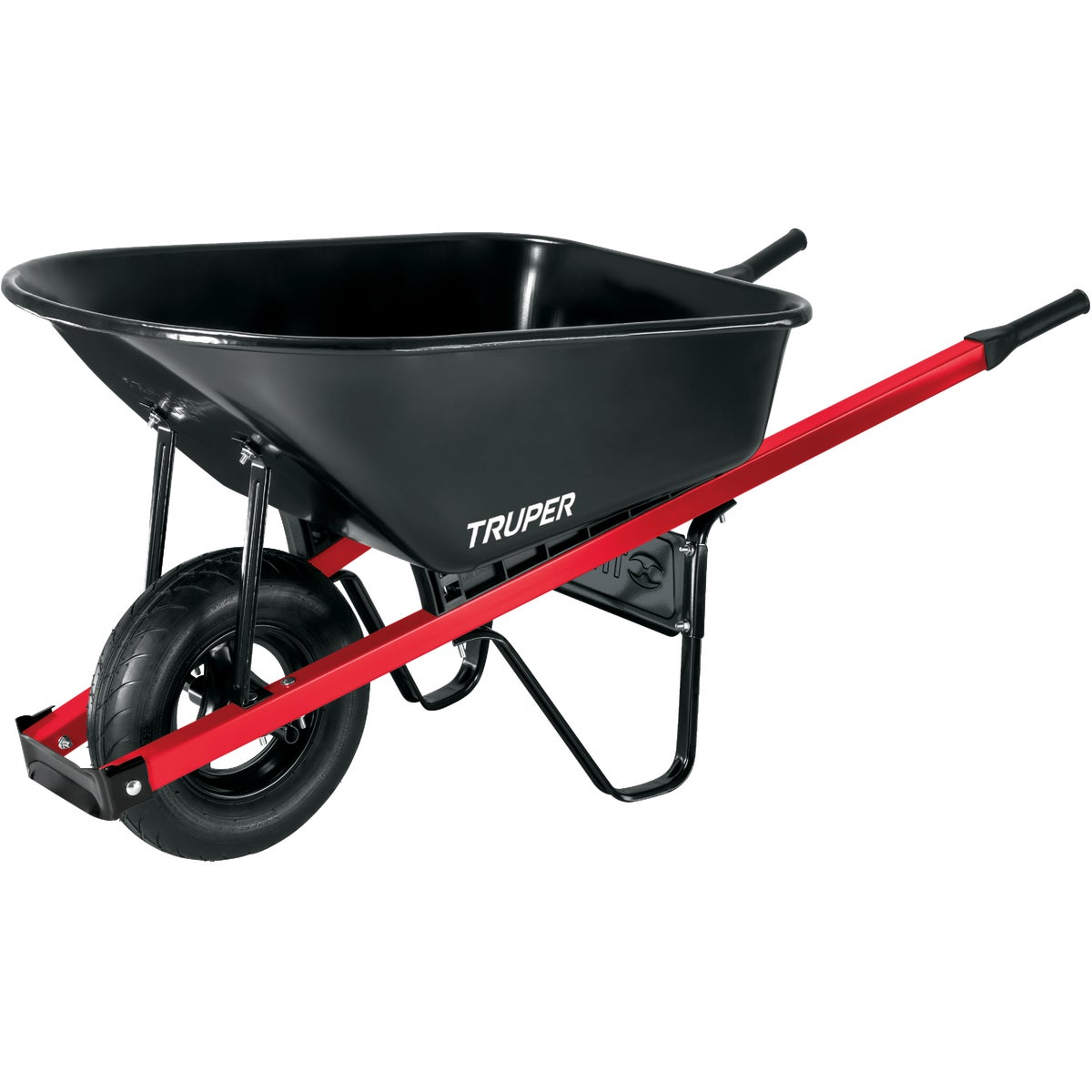 6CU FT STEEL WHEELBARROW - TM6 by Truper Herramientas