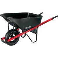 Truper Homeowner Steel Wheelbarrow, TM6